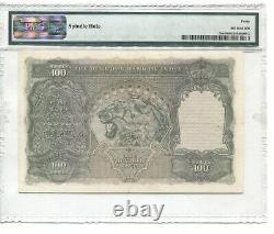 BRITISH INDIA PICK 20e 1943100 RUPEES KING GEORGE VI PMG 40