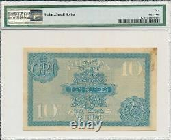 British Administration India 10 Rupees ND(1917-30) George V PMG 40