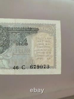 British India 1935 King George V 1 Rupee GEF