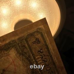 British India 1943 King George VI 100 Rupees CD Deshmukh KARACHI Repaired G+