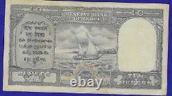 British India 3 X 10 Rupees KGVI