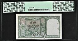 British India Pakistan, 1948, 5 Rupees, UNC, PCGS 63, Deshmukh Sign Note Pick# 2