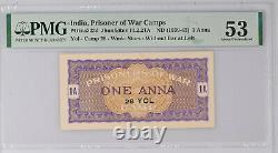 British India WW2 POW 28 YOL Camp 1 Anna PMG AU 53 RRR in High Grade NL Campbell