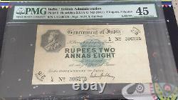 British india rupees 2 annas 8, lahore extremely rare