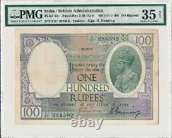 Government of India India 100 Rupees ND(1917-30) Madras PMG 35NET