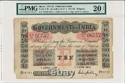 Government of India India 10 Rupees 1920 PMG 20NET