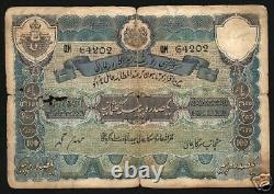 Hyderabad State India 100 Rupees Ps275c 1941 Un-recorded Pfx Large Rare Banknote