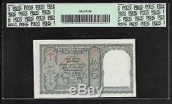 INDIA Paper Money WWII Era 5 Rupees (1943) P23a PCGS 64PPQ