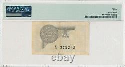 INDIA RUPEE 1935 PICK# 14b F/4 372033 JHUN&REZ 3.2.1A PMG 30 VERY FINE