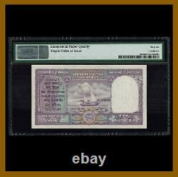 India 10 Rupees, 1951 P-37b Sig. # 72 PMG 66 EPQ Unc