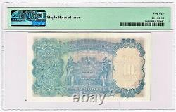 India 10 Rupees ND (1943) Pick 19b PMG Choice About Unc 58