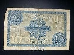 India, 10 rupees, 1917-30, Pick 7a