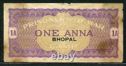 India 1940-1944, Prisoner-of-War POW Camp of World War 2 Bhopal Camp 1Anna aVF