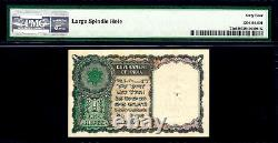 India 1949 One Rupee 1st Issue Menon Pick-71a Ch UNC PMG 64