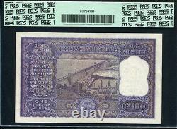 India 1962-1967, 100 Rupees, 957822, P45, PCGS 64 UNC