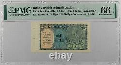 India, 1 Rupee. 1935. P-14b. GEM UNC 65 EPQ