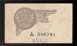 India British 1 Rupee 1935 P-14b (NICE)