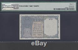 India, P-25d, PMG 65 GEM UNC, EPQ. 1940 £1 King George VI Banknote
