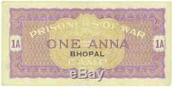 India Prisoner-of-War POW Camp of World War 2 Bhopal Camp 1 Anna Rare