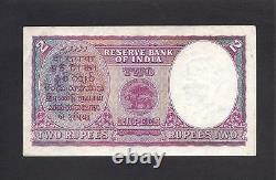 India p-17a, aXF, 2 Rupees, 1937, KGVI, WITHOUT PINHOLES