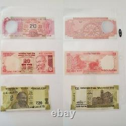 Indian Rupee Currency & coin set of 26 Currency Dates1954 to 2018, 12 coins