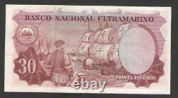 PORTUGUESE INDIA 30 ESCUDOS 1959 P 41a5 XF+