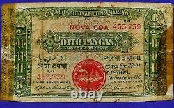 Portuguese India 8 Tangas 1917