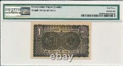 Princely States India 1 Rupee ND(1950) Hyderabad PMG 63EPQ