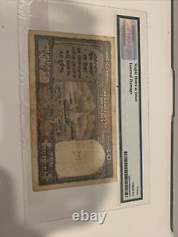 RARE BRITISH INDIA RS 10 Rs PMG 20 Over Print Pak VERY Fine Rare Pick 3