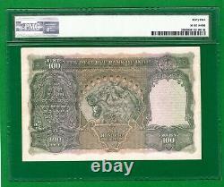 RARE RS. 100 BRITISH INDIA LAHORE PICK 20l KGVI 1937 J. B. TAYLOR