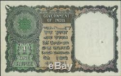 REDUCED! India Government of India 1 Rupee 1949 Jhun6.1.1.1 Pick 71a UNIQUE
