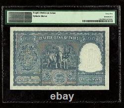 Republic India 100 Rupees 1949-57 Incorrect Hindi Kanpur P42b PMG-45