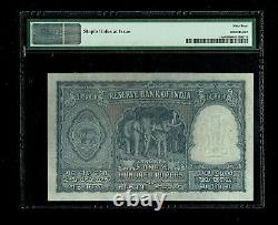 Republic India 100 Rupees 1950 1st Issue P41a PMG-64