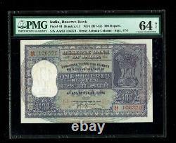 Republic India 100 Rupees 1957-62 P44 PMG-64 NET