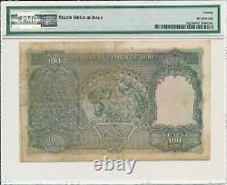 Reserve Bank India 100 Rupees ND(1937) Cawnpore PMG 20