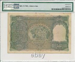 Reserve Bank India 100 Rupees ND(1937) Cawnpore PMG 25