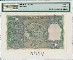 Reserve Bank India 100 Rupees ND(1943) Bombay PMG 53