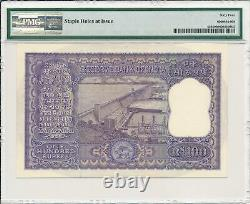 Reserve Bank India 100 Rupees ND(1962-67) PMG 64