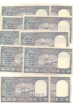 Reserve Bank Of India Nd1945 Kgvi Burma Military Admin P28 Scarce