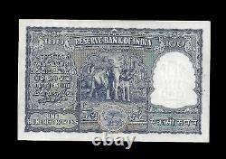 Rs 100/- 1950S Issue RAMARAU Elephant Issue X Prefix DELHI Mint! UNC