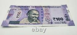 Special India 100 Rupees Bank Note Rs 100- circulated New Indian Currency x786